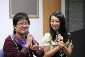 左:遠藤まめた 右:牧村朝子